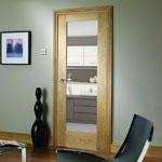 Glazed Oak Doors