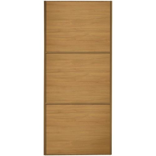 Classic 3 Panel - Oak Oak Frame