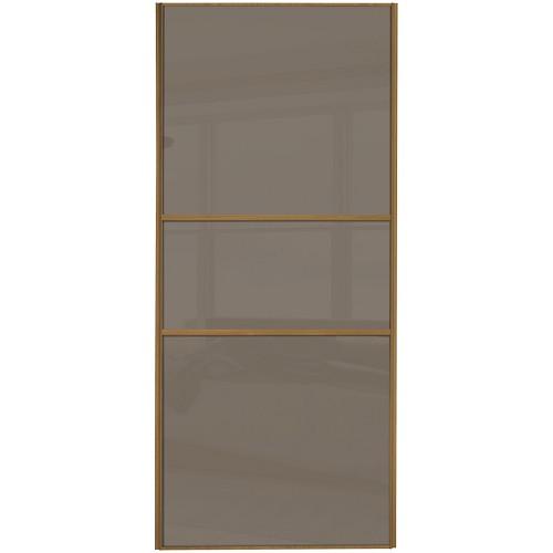 Classic Fineline - Cappuccino Glass Oak Frame