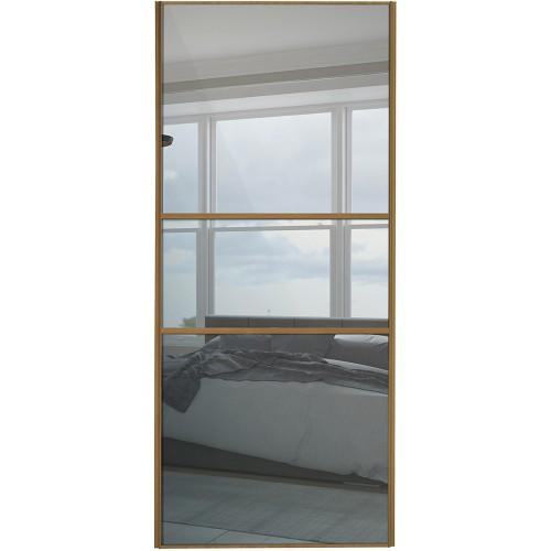 Classic Fineline - Mirror Oak Frame