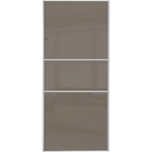 Classic Fineline - Cappuccino Glass Silver Frame