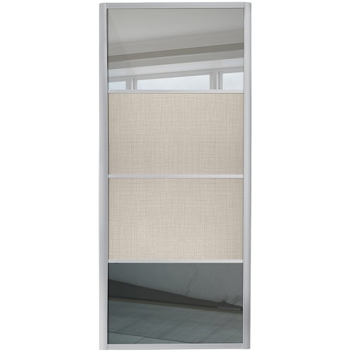 Ellipse 4 Panel - Mirror Linen