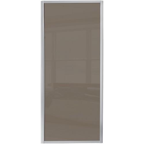 Ellipse Single Panel - Cappuccino Glass