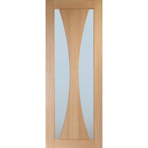 Verona Oak - Obscure Glass