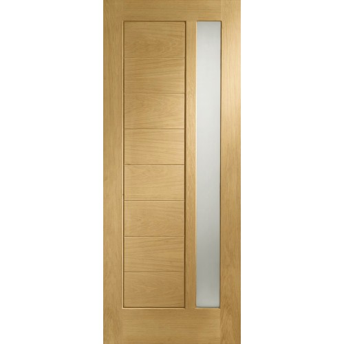 Modena Oak External - Obscure Glass
