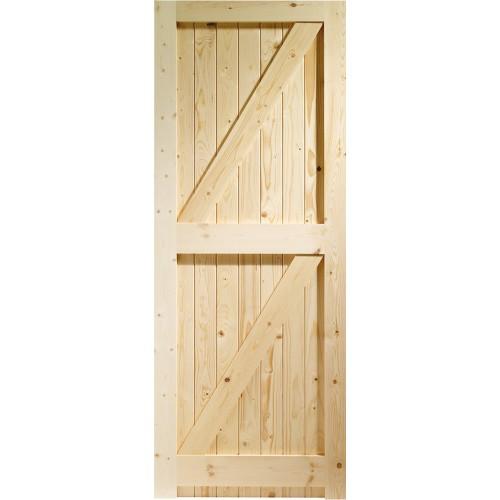Gate - Ledged, Braced & Framed Solid Pine