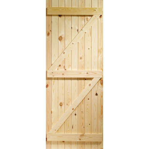 Gate - Ledged and Braced Solid Pine